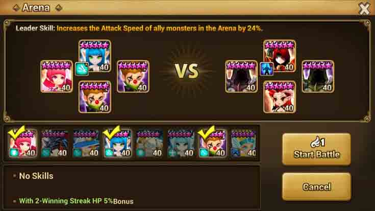 Element of Summoners War
